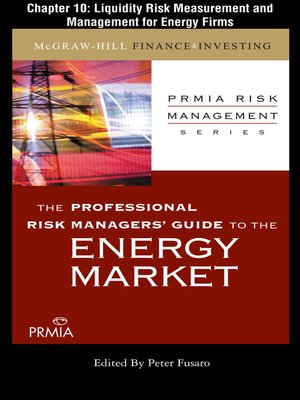 cover image of Liquidity Risk Measurement and Management for Energy Firms