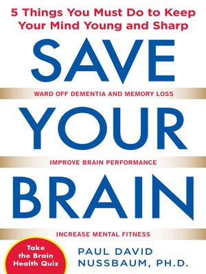cover image of Save Your Brain