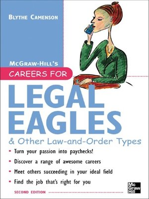 cover image of Careers for Legal Eagles & Other Law-and-Order Types