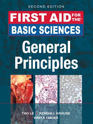 cover image of First Aid for the Basic Sciences, General Principles