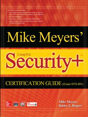cover image of Mike Meyers' CompTIA Security+ Certification Guide (Exam SY0-401)