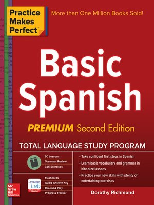 cover image of Practice Makes Perfect Basic Spanish