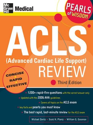 cover image of ACLS (Advanced Cardiac Life Support) Review