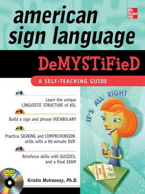 cover image of American Sign Language Demystified
