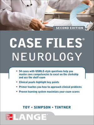cover image of Case Files Neurology