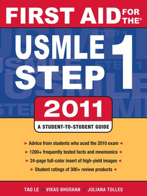 cover image of First Aid for the USMLE