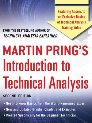 cover image of Martin Pring's Introduction to Technical Analysis