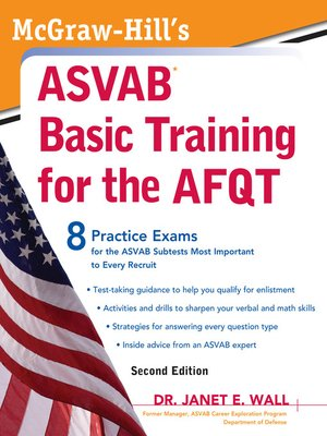 cover image of McGraw-Hill's ASVAB Basic Training for the AFQT
