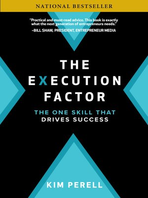 cover image of The Execution Factor