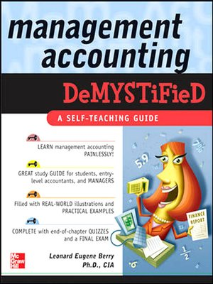 cover image of Management Accounting Demystified