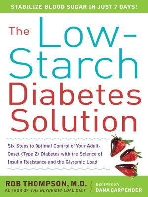 cover image of The Low-Starch Diabetes Solution