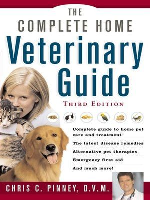 cover image of The Complete Home Veterinary Guide