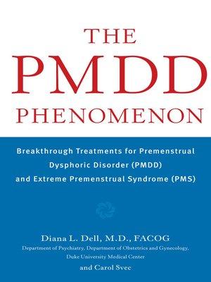 cover image of The PMDD Phenomenon