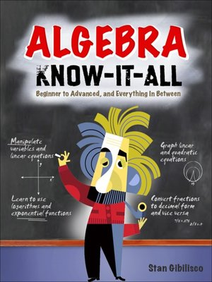 cover image of Algebra Know-It-ALL