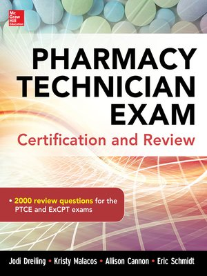 cover image of Pharmacy Technician Exam Certification and Review