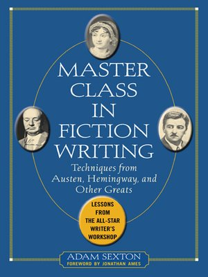 cover image of Master Class in Fiction Writing