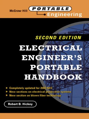 cover image of Electrical Engineer's Portable Handbook