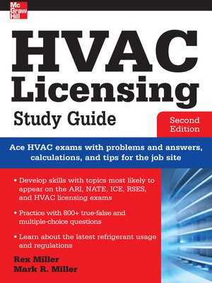 cover image of HVAC Licensing Study Guide