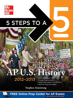 cover image of 5 Steps to a 5 AP US History, 2012-2013 Edition