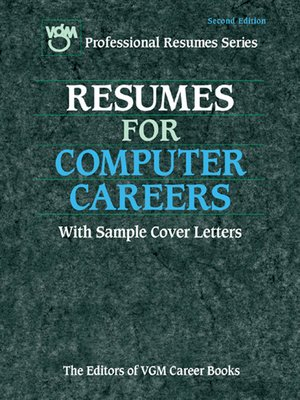 cover image of Resumes for Computer Careers