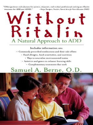 cover image of Without Ritalin