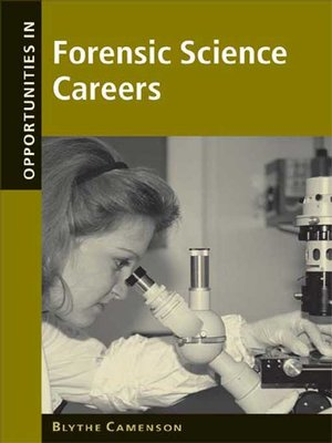 cover image of Opportunities in Forensic Science Careers