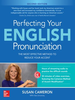 cover image of Perfecting Your English Pronunciation