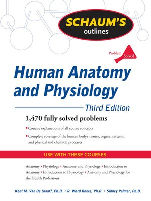 Human Anatomy and Physiology by Kent Van de Graaff · OverDrive ...