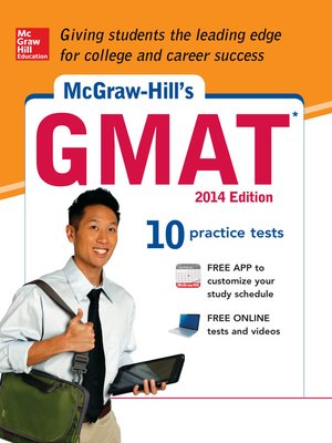 cover image of McGraw-Hill's GMAT, 2014 Edition