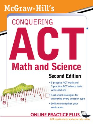 cover image of McGraw-Hill's Conquering ACT Math and Science