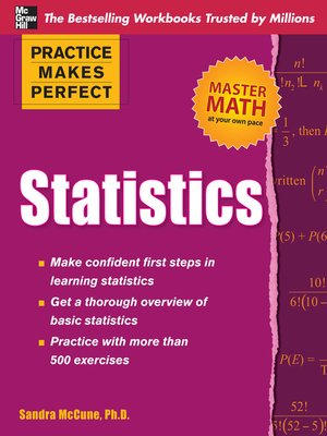 cover image of Practice Makes Perfect Statistics