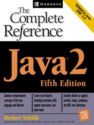 Java 2 Tm By Herbert Schildt 183 Overdrive Rakuten
