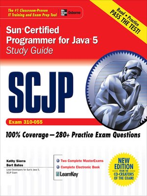 cover image of SCJP Sun Certified Programmer for Java 5 Study Guide (Exam 310-055)
