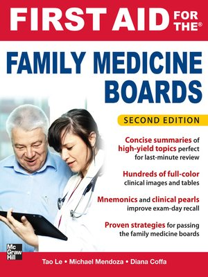 cover image of First Aid for the Family Medicine Boards