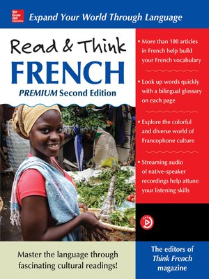 cover image of Read & Think French, Premium