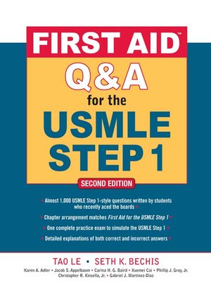 cover image of First Aid<sup>TM</sup> Q & A for the USMLE Step 1
