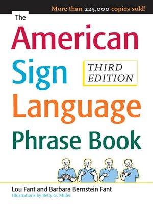 cover image of The American Sign Language Phrase Book