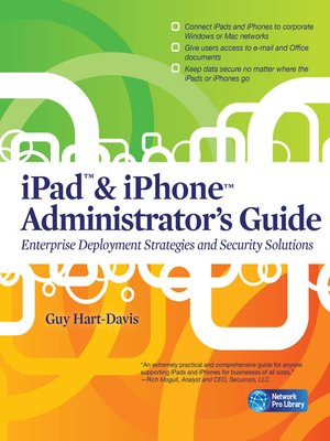 cover image of iPad & iPhone Administrators Guide