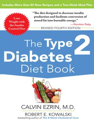 cover image of The Type 2 Diabetes Diet Book