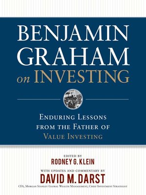 cover image of Benjamin Graham on Investing