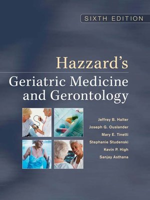 cover image of Hazzard's Geriatric Medicine and Gerontology