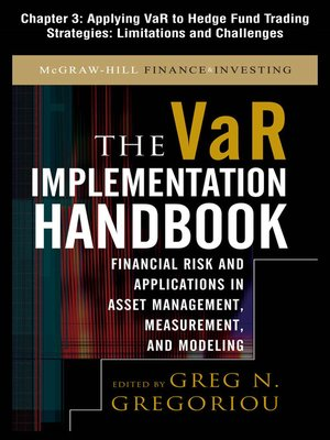 cover image of Applying VAR to Hedge Fund Trading Strategies: Limitations and Challenges