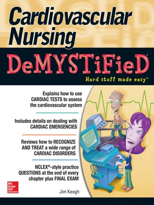 cover image of Cardiovascular Nursing Demystified