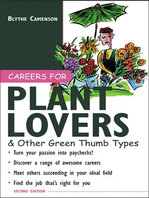 cover image of Careers for Plant Lovers & Other Green Thumb Types