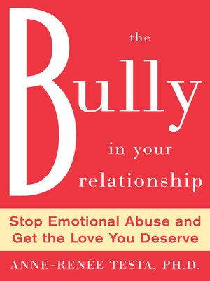 cover image of The Bully in Your Relationship