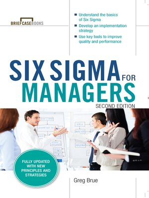 cover image of Six Sigma for Managers