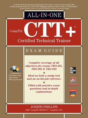 Comptia ctt certified technical trainer all in one exam guide by comptia ctt certified technical trainer all in one exam guide fandeluxe Images
