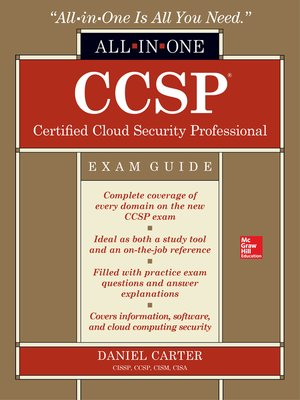 ccsp isc 2 certified cloud security professional official study guide