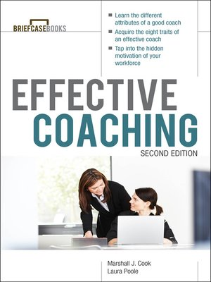 cover image of Manager's Guide to Effective Coaching