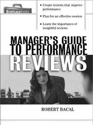 cover image of The Manager's Guide to Performance Reviews